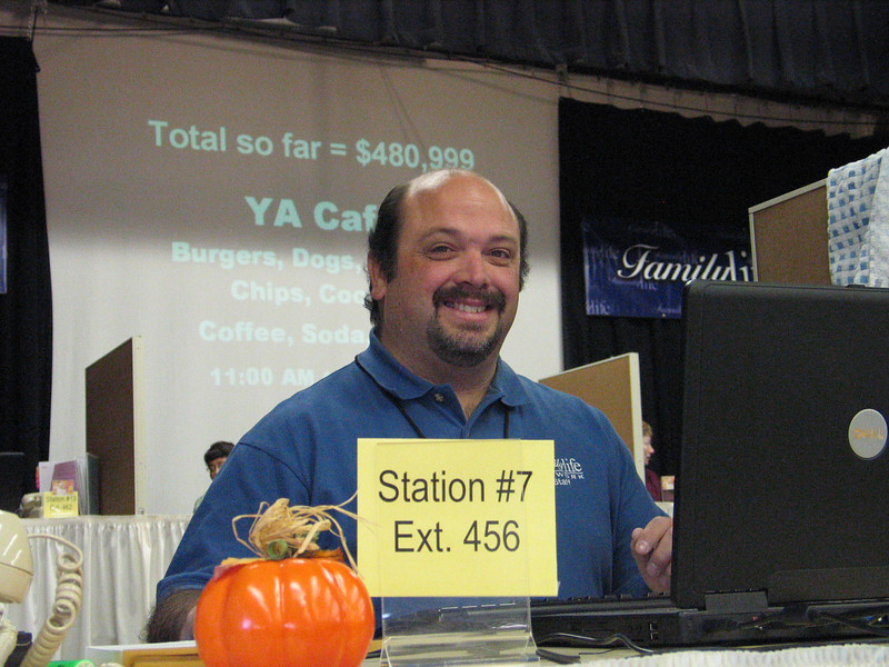Station #7 is ready for business with Dan...