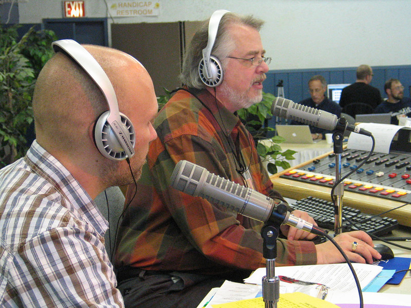 Chad and Cecil tag team on air...