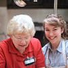 Jean and Maria work the kitchen... our heroes!