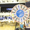 The famous Family Life prize wheel. This game never stops! Spin for a prize when you enter Sharathon...