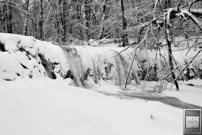 April Snow Water Flow