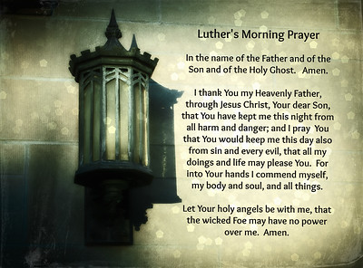 Luther's Morning Prayer