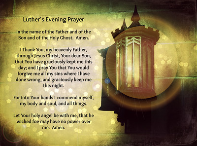 Luther's Evening Prayer