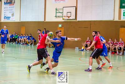 Handball BHV Pokal: TVHardheim-TSGPlankstadt (21:20)