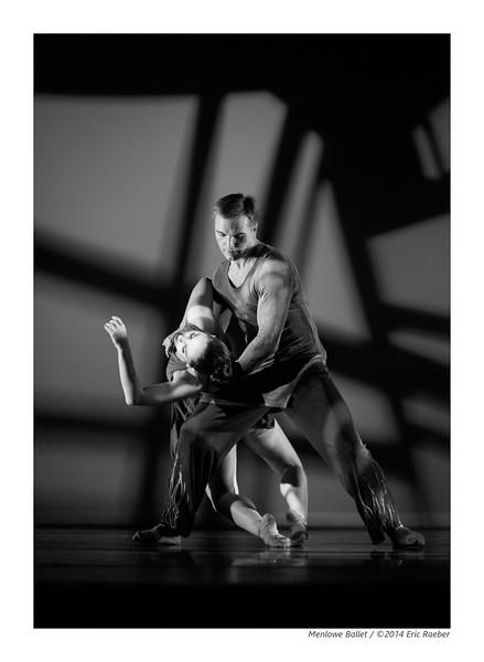 Dancers Lauren Mindel and Anton Pankevich in Michael Lowe's Plague