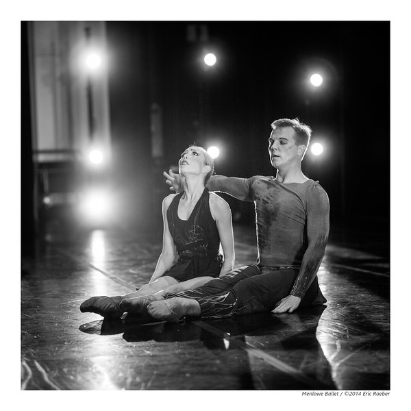 Dancers Terrin McGee-Kelly and Anton Pankevich in Michael Lowe's Plague