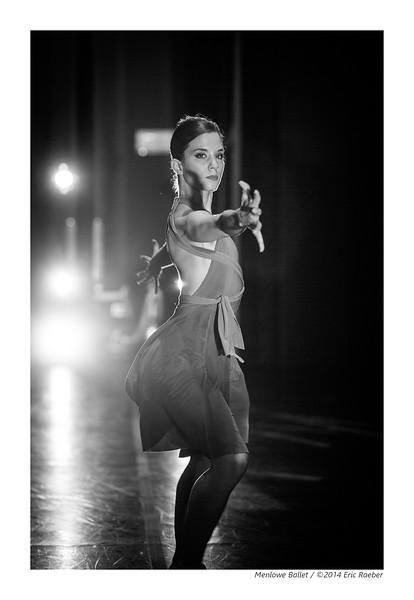 Dancer Julie Giordano in Michael Lowe's Plague