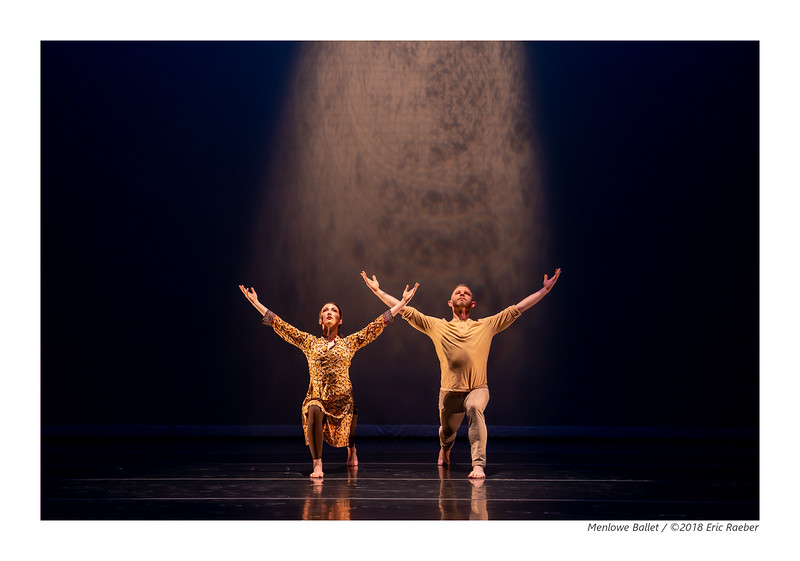 Donald McKayle's Crossing the Rubicon performed by Ali McKeon and Aidan De Young