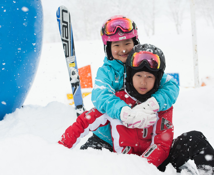 2012-12-28 Niseko Annupuri, Doriji Family
