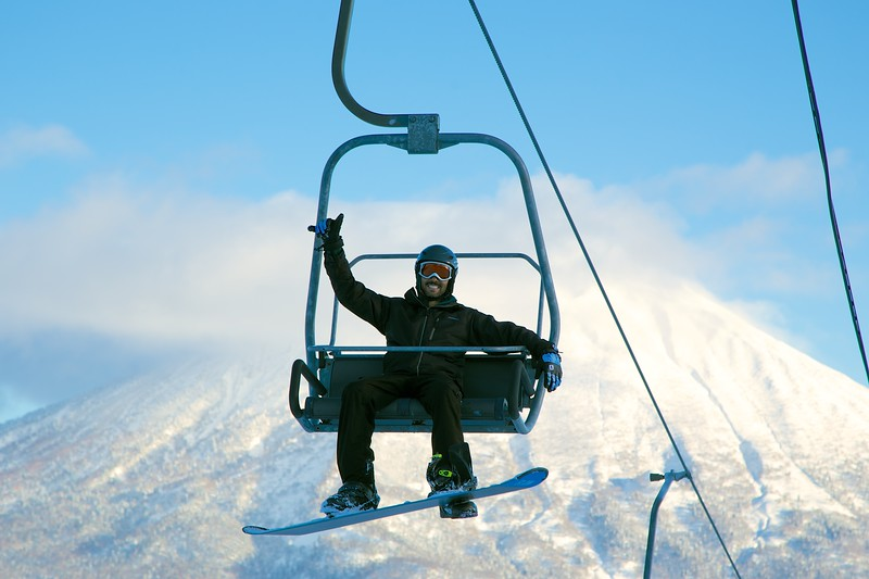 Ski Lift Niseko Japan