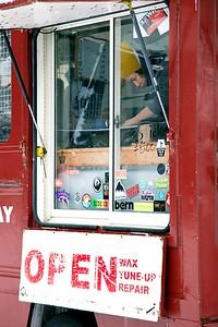 Hot Wax Red Van