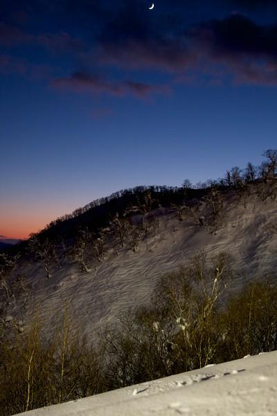Grand Hirafu Sunset