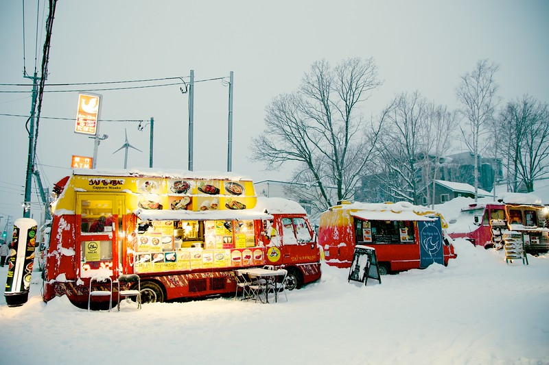 Food Trucks, Niseko Japan