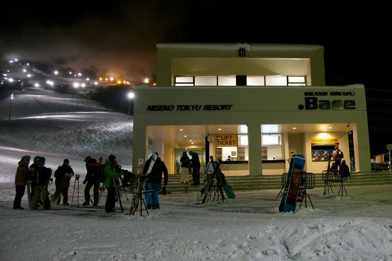 Grand Hirafu Base Niseko Japan