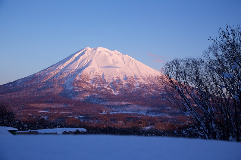 Mt Yotei on Sunset