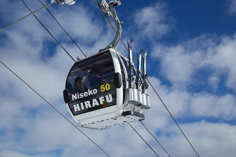 Niseko Grand Hirafu Gondola