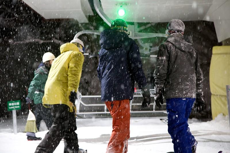 Night Skiing Japan