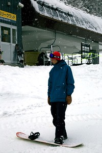 Lisa and Shoji san Niseko, Japan