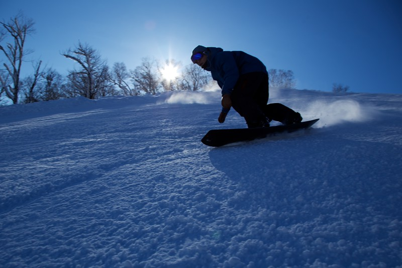Shoji-san Snowboard Shoot