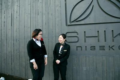 Eri-san & Hiromi-san Guest Service Shiki Niseko