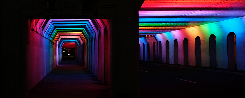 Colorful Underpass