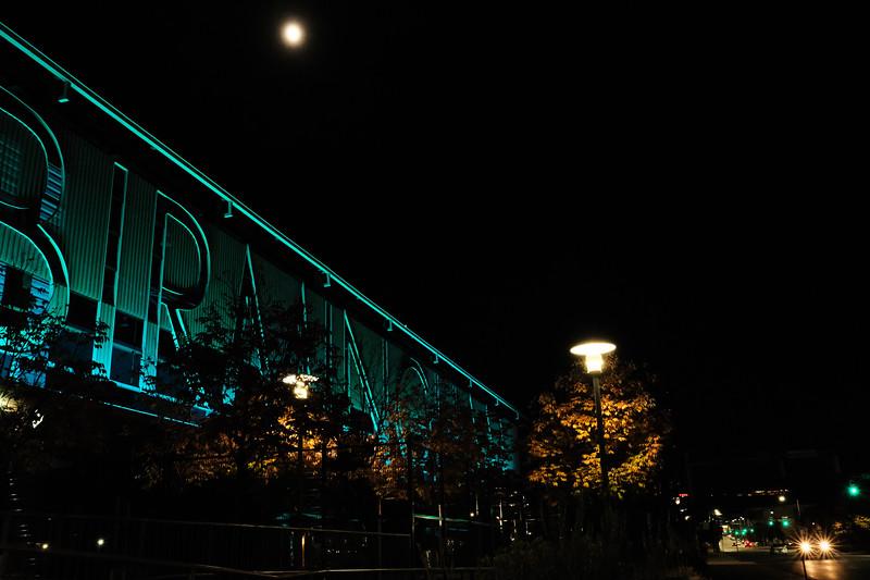 Moon over Birmingham