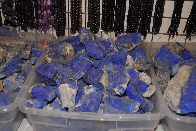 Lapiz, my favorite of all gemstones.