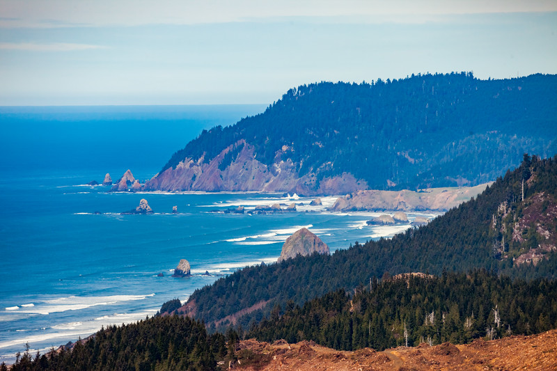 Cannon Beach at a Distance, Looking North
