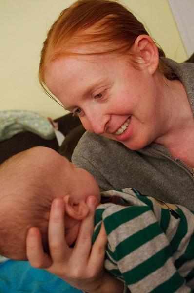 Day 78 (10/16) - I love Sarah's smile when Sam smiles.