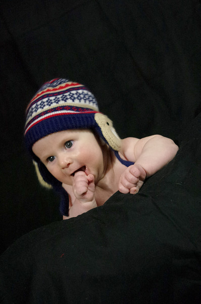 Day 96 (11/3) - Guess who had a three month old photo shoot today?