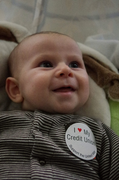 Day 80 (10/18) - I wasn't the only one who enjoyed casual day courtesy of the MMFCU.