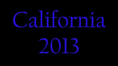 2013-10-05 - California Trip