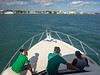Crew Chatting While Approaching Belize City
