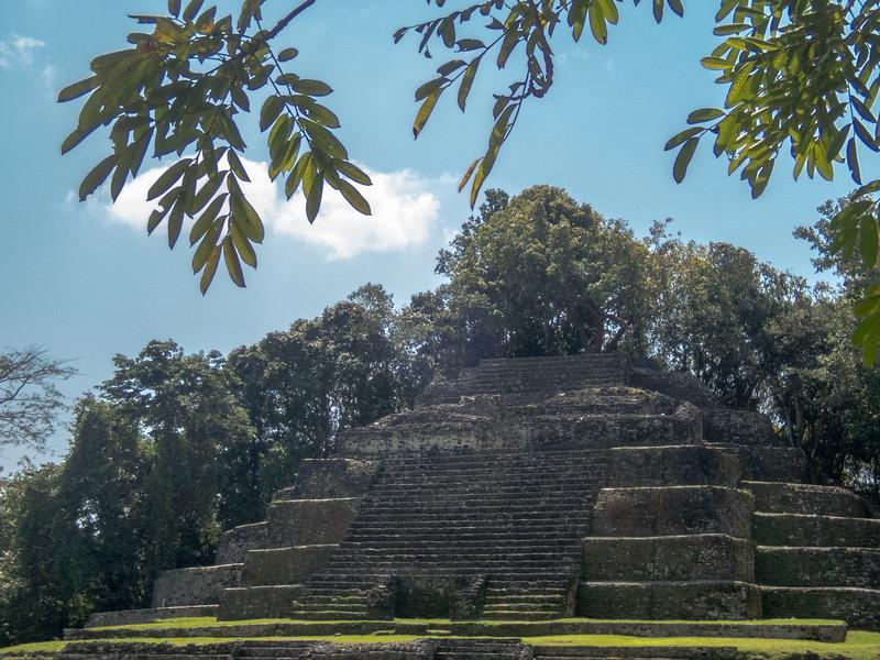 Mayan Temple at Lamani