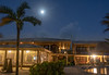 Moon Setting over El Pescador Lodge as the Fishing Day Begins, 5:44am, Feb 21 2019