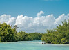 Mangrove Channel and Clouds
