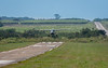Runway on Edge of Sugar Cane Fields
