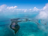 Ambergris Caye Area from the Air