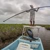 Chucho Poling through the Mangroves, Ascencion Bay MX