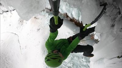 "Climbing ""Nadurra Dura"" WI 12"