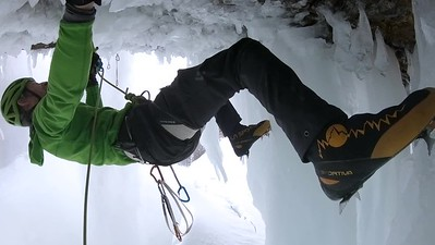 "Climbing ""Mission to Mars"" WI 13"