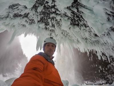 Klemen Premrl, Helmcken Falls, Wells Gray Provincial Park, BC, Canada. February 2016