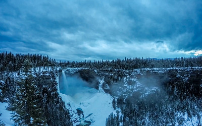 Helmcken Falls evening time lapse