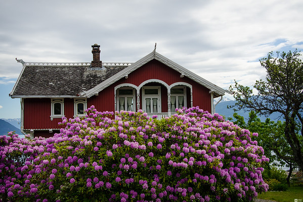 2015 Summer Holiday - A visit to Balestrand / 2015 Sommerferie - Et besøk i Balestrand