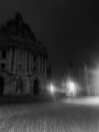 Oxford by night