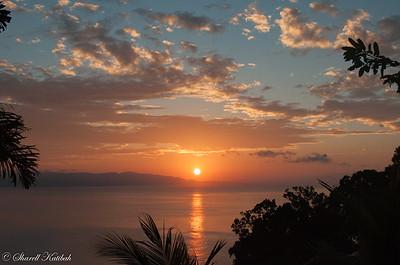 Sunrise Over Golfo Dulce