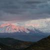 Alaska Range at Sunset from Camp Denali