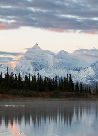Dawn over Alaska Range from Wonder Lake, #2