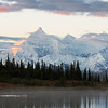 Dawn over Alaska Range from Wonder Lake, #2