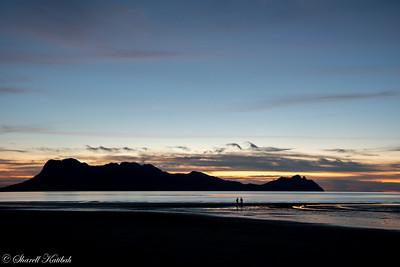 Sunset--Bako